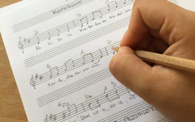 Wie komponiert man ein Lied – In 5 Schritten zum eigenen Song