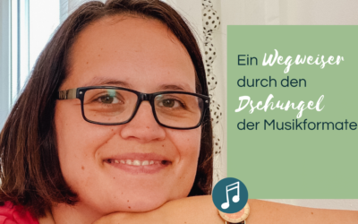 Musik für Videos, Musik für Podcasts, Soundlogo, Jingle & Co. – Ein Wegweiser durch den Dschungel der Musikformate